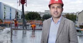 Gilbert Comos, directeur général délégué de Giraud Midi-Pyrénées