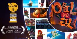 Œil Pour Œil, un petit bijou comique du film d'animation créé par six étudiants de l'ESMA