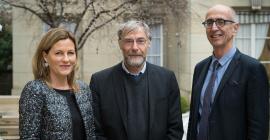 Les trois Directeurs Généraux de Montpellier SupAgro, Agrocampus Ouest et AgroParisTech @DR