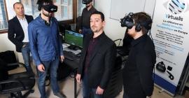 Franck Assaban, kiné montpelliérain et créateur de Virtualis (crédits : Virtualis)
