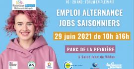 Forum alternance et emplois saisonniers, édition spéciale à Saint Jean de Védas.