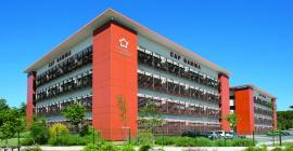 Le Biopôle Euromédecine est un hôtel d'entreprises dédié aux sciences du vivant, aux biotechnologies et à la santé.