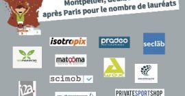 Montpellier, premier territoire pour le nombre de lauréats (hors Île-de-France)