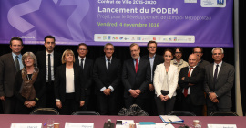 Le Podem est co-animé par la Métropole et l'État.