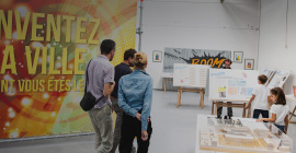 La future Cité Créative en maquette © Atelier End